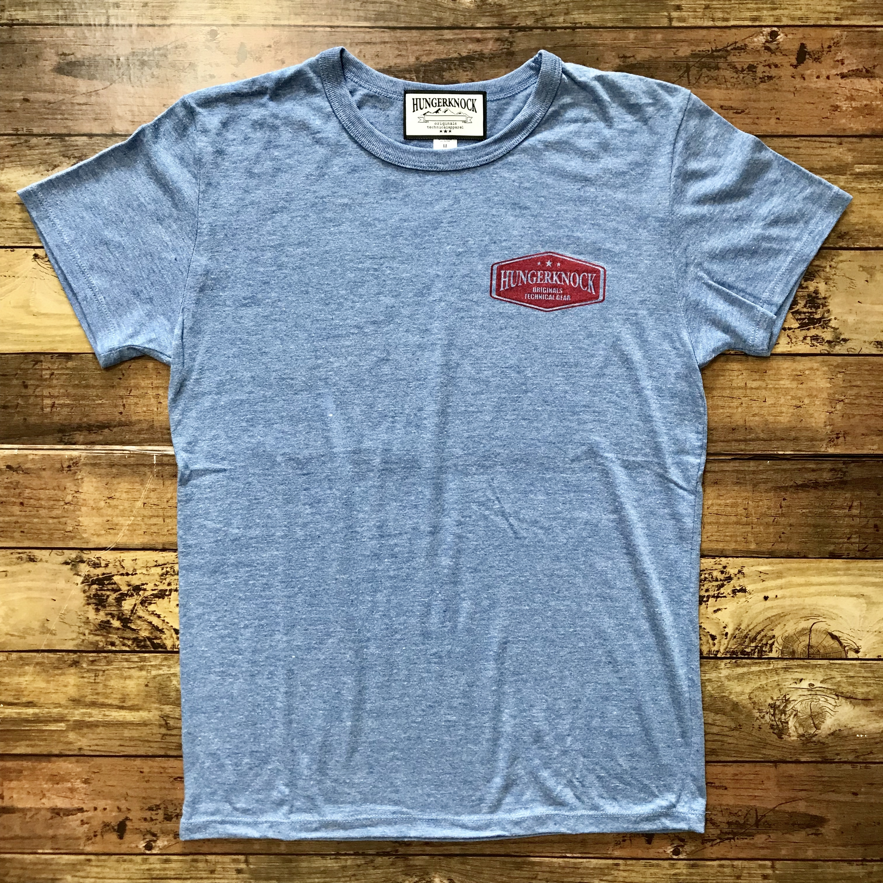 Basic Tee / HeatherBlue