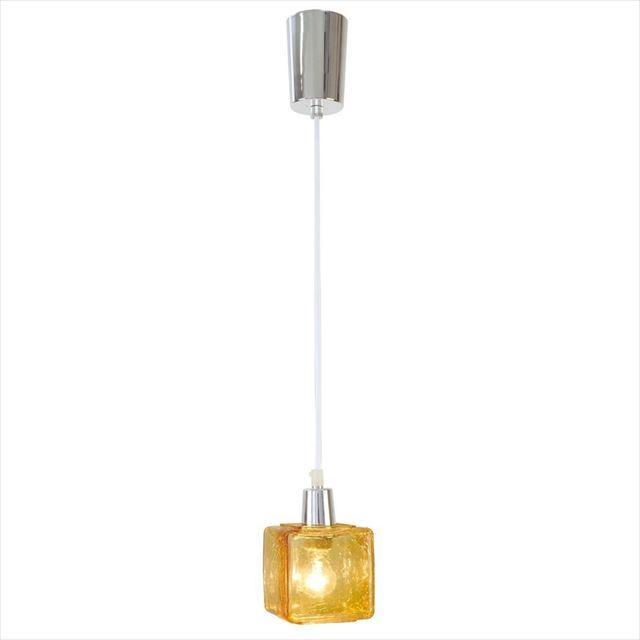ペンダントライト LED使用可 Crack cube ~クラックキューブ~  CC-40281、2 キシマ - 画像2