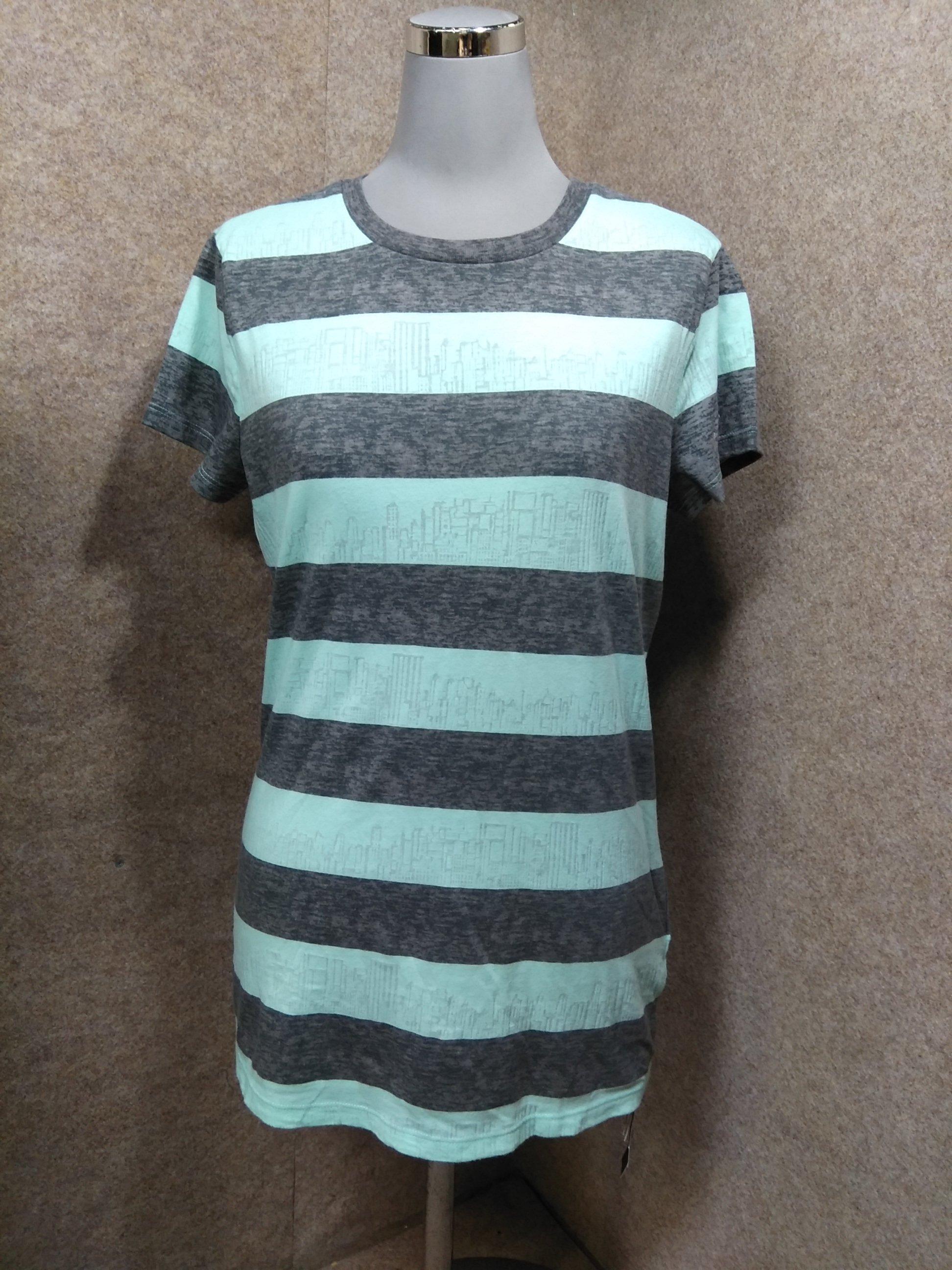 アルマーニエクスチェンジ レディース Tシャツ S グリーン系 y1085c