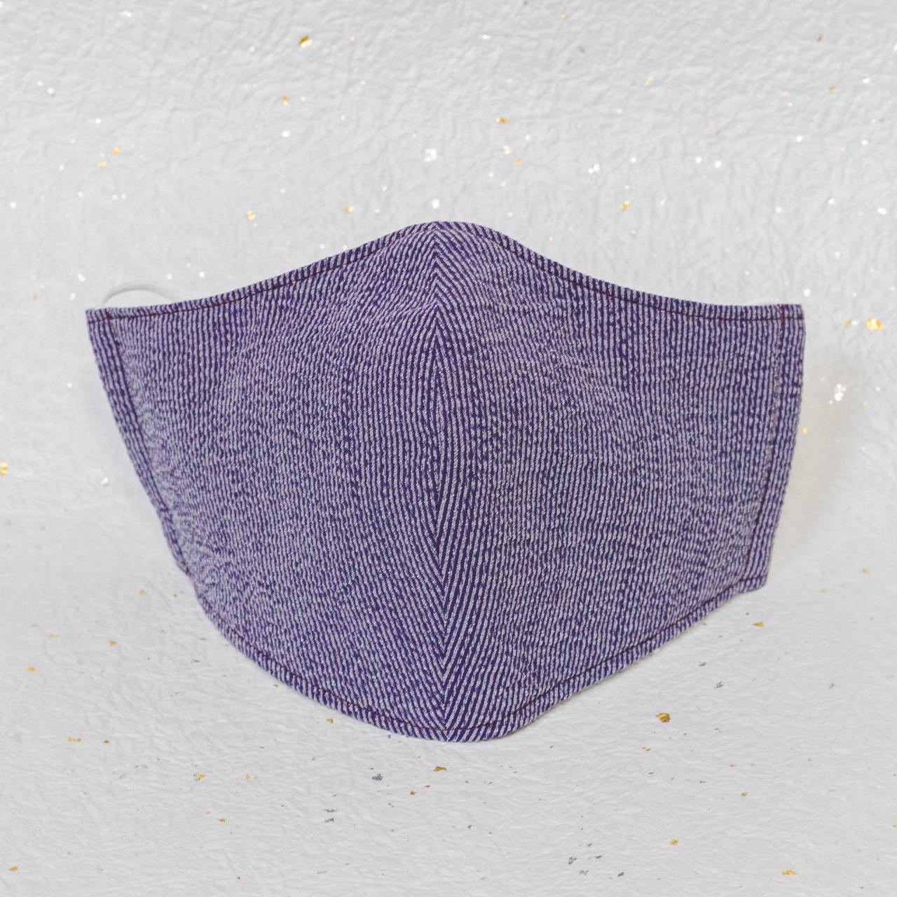 クラシック パープル(紫) / モダン和紙織りマスク