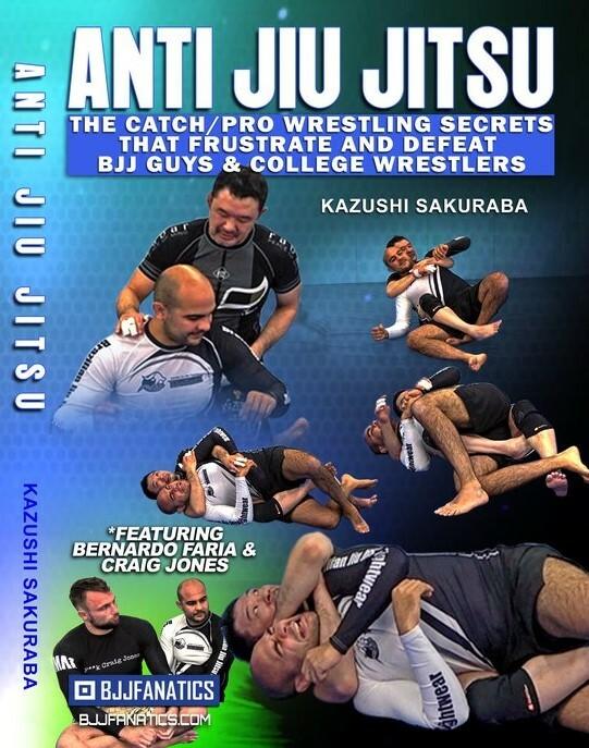 予約注文受付中!桜庭 和志 アンチ柔術(Anti Jiu Jitsu)DVD4枚セット