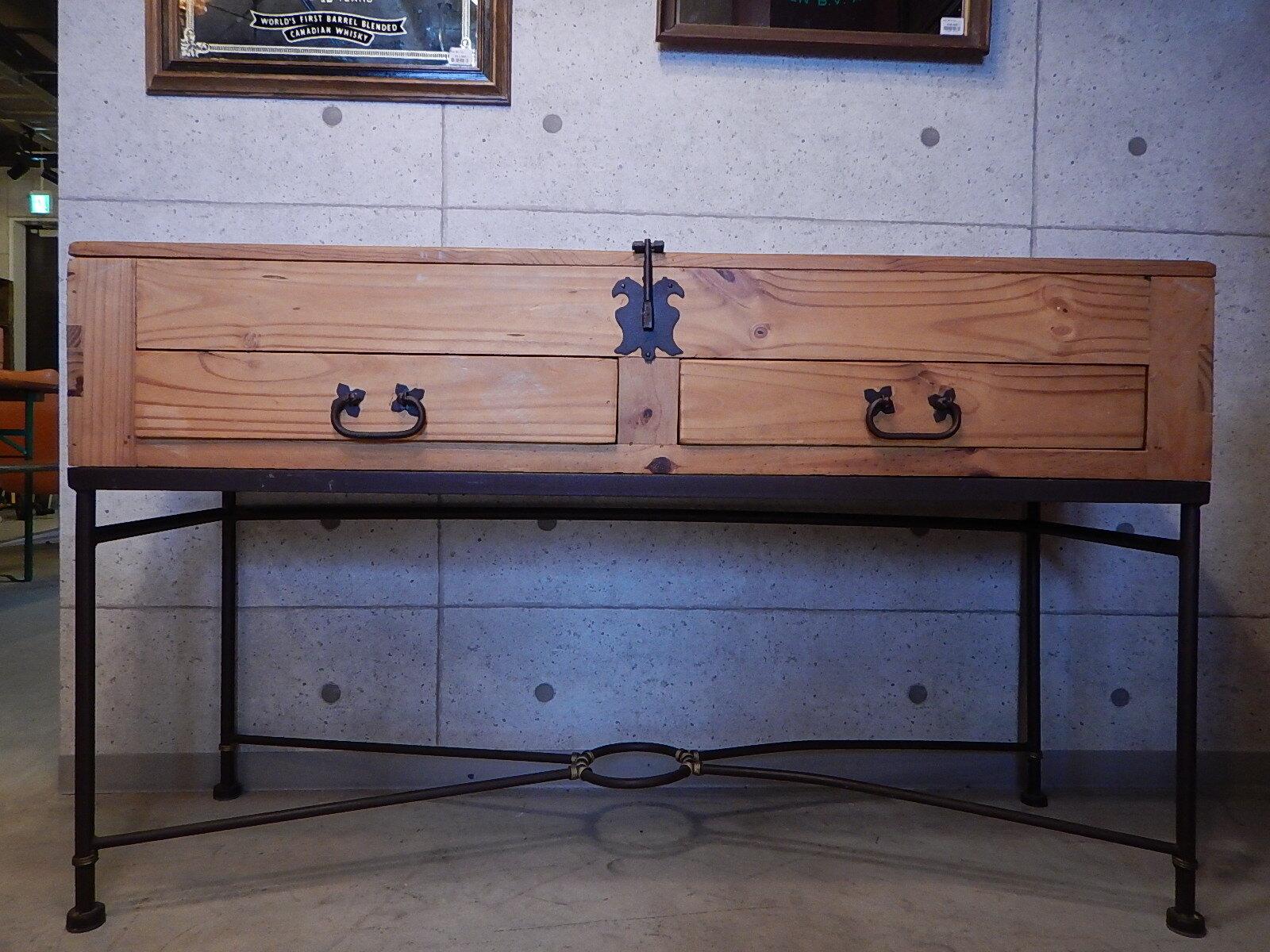 品番0945 サイドテーブル デスク 収納 家具 アンティーク 011