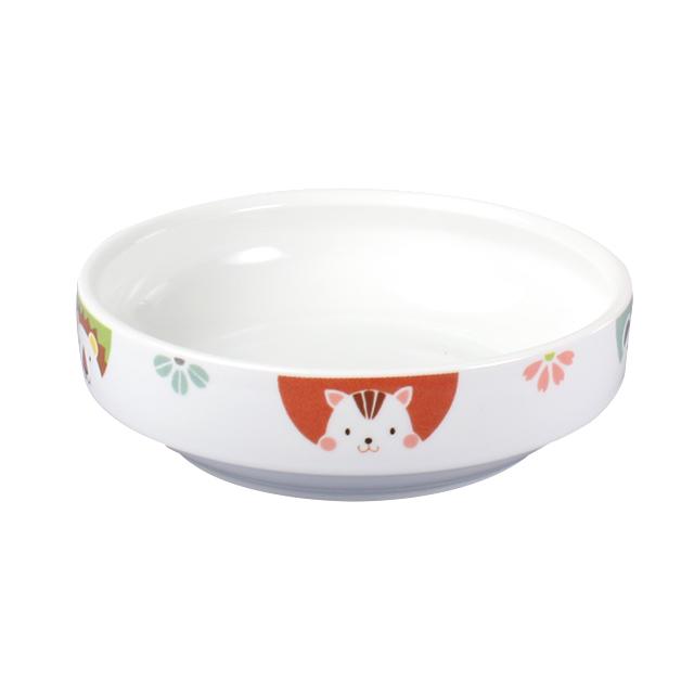 【1714-1370】強化磁器 14.5cm すくいやすい食器 かくれんぼ