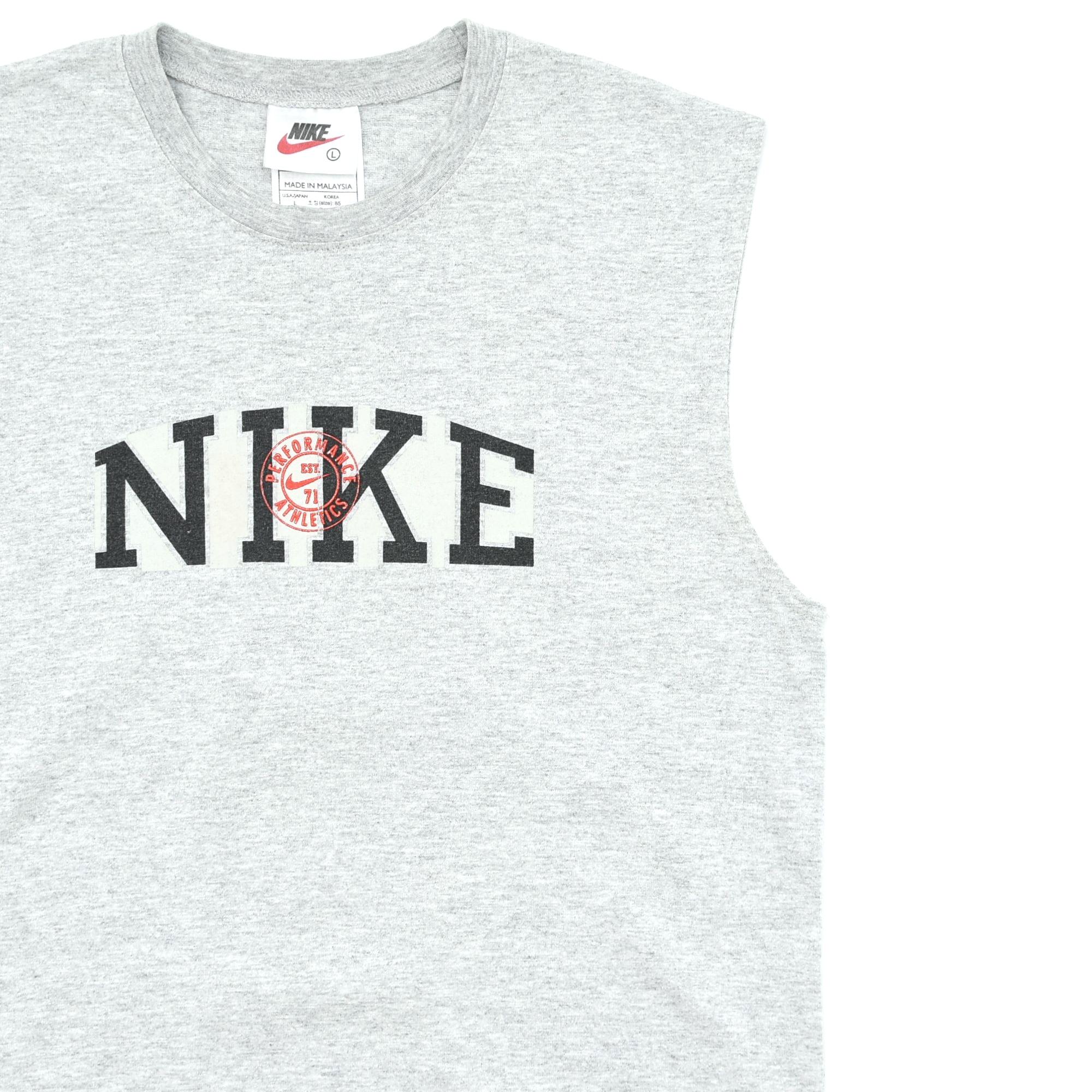 90's NIKE logo print sleeveless T-shirt