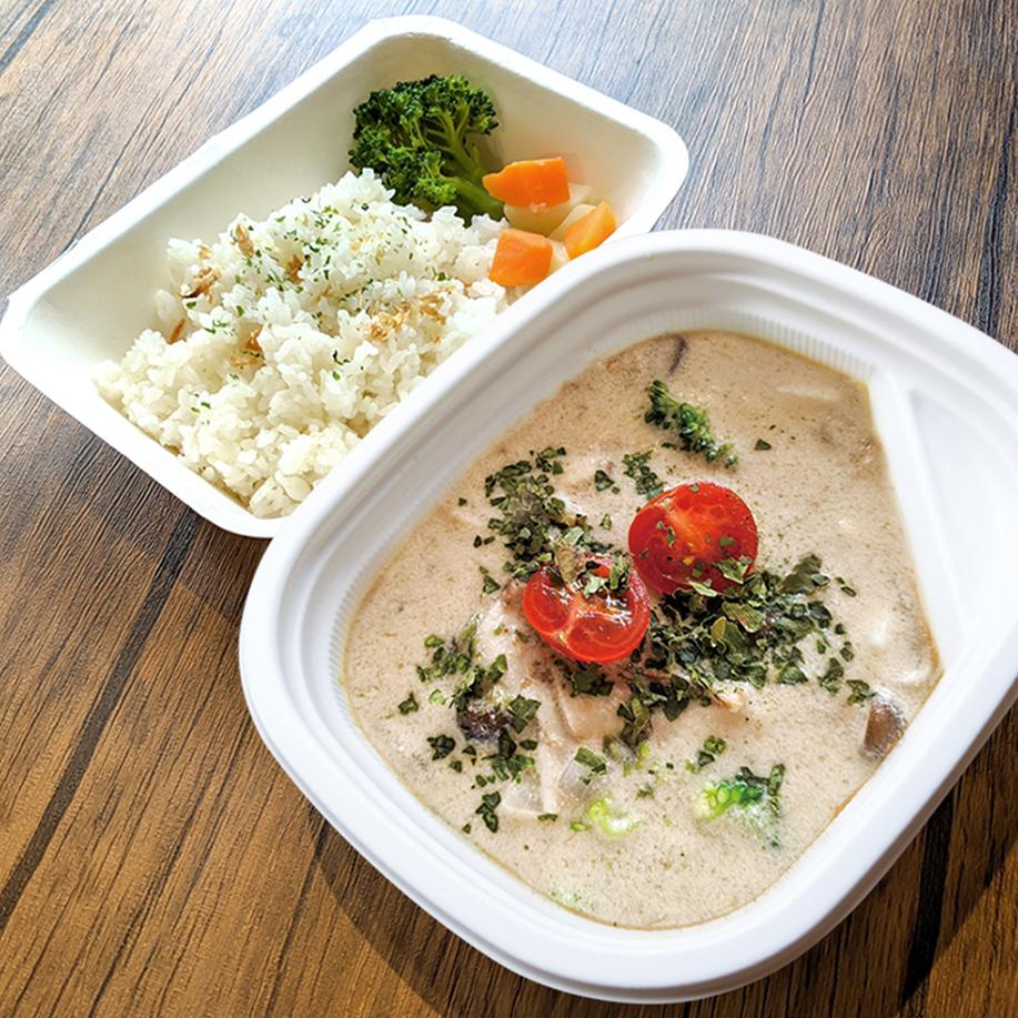 [ お弁当 ] グリーンカレー / Green Curry / 綠咖哩便當