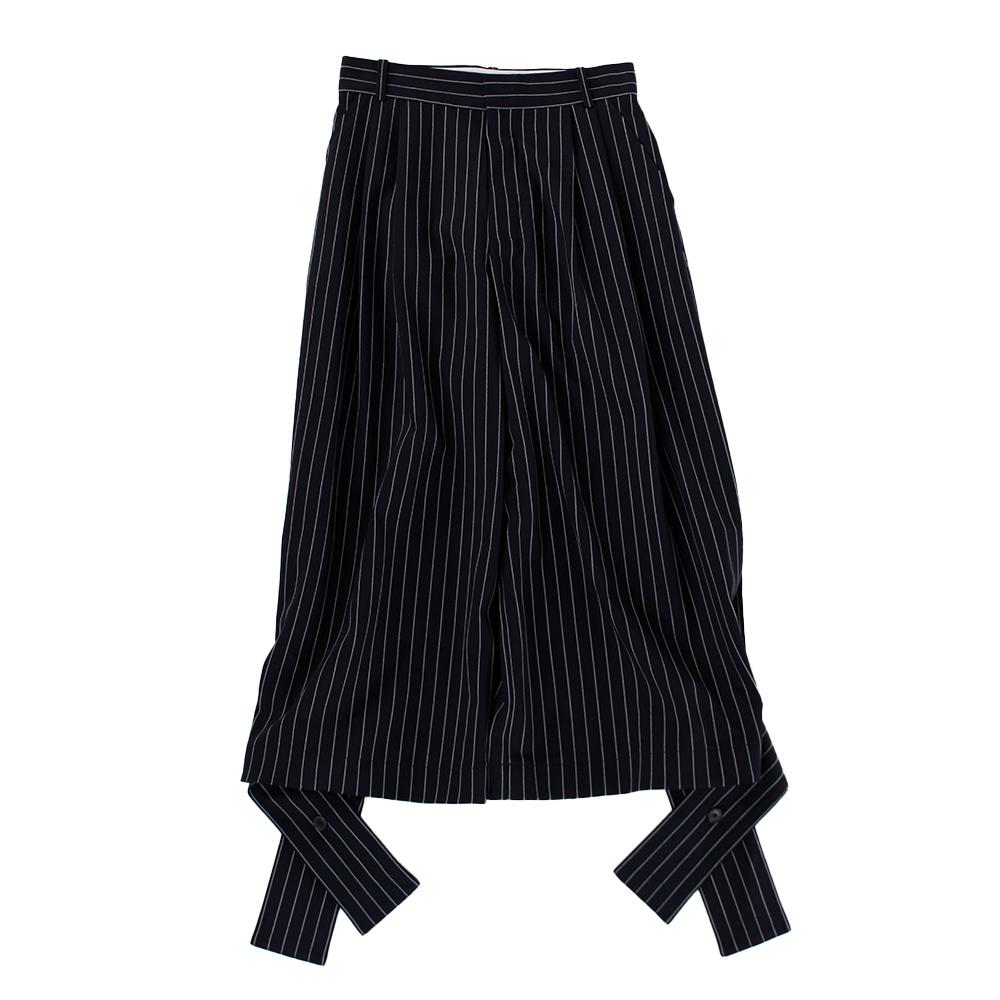 JW ANDERSON Stripe Hem Trousers