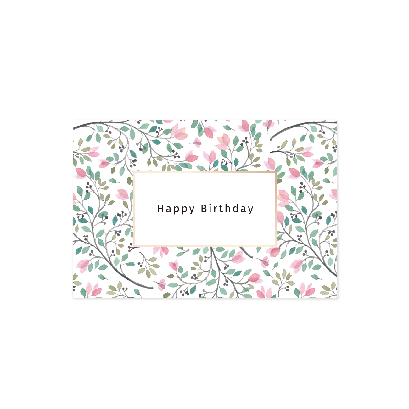 グリーティングカード | Happy Birthday