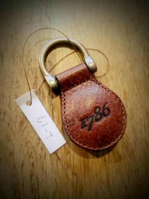 1786 Key Ring I-17
