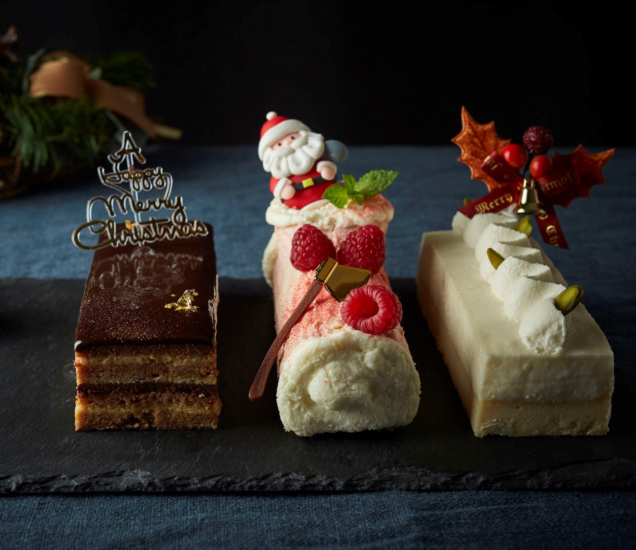 三種のクリスマスケーキアソート