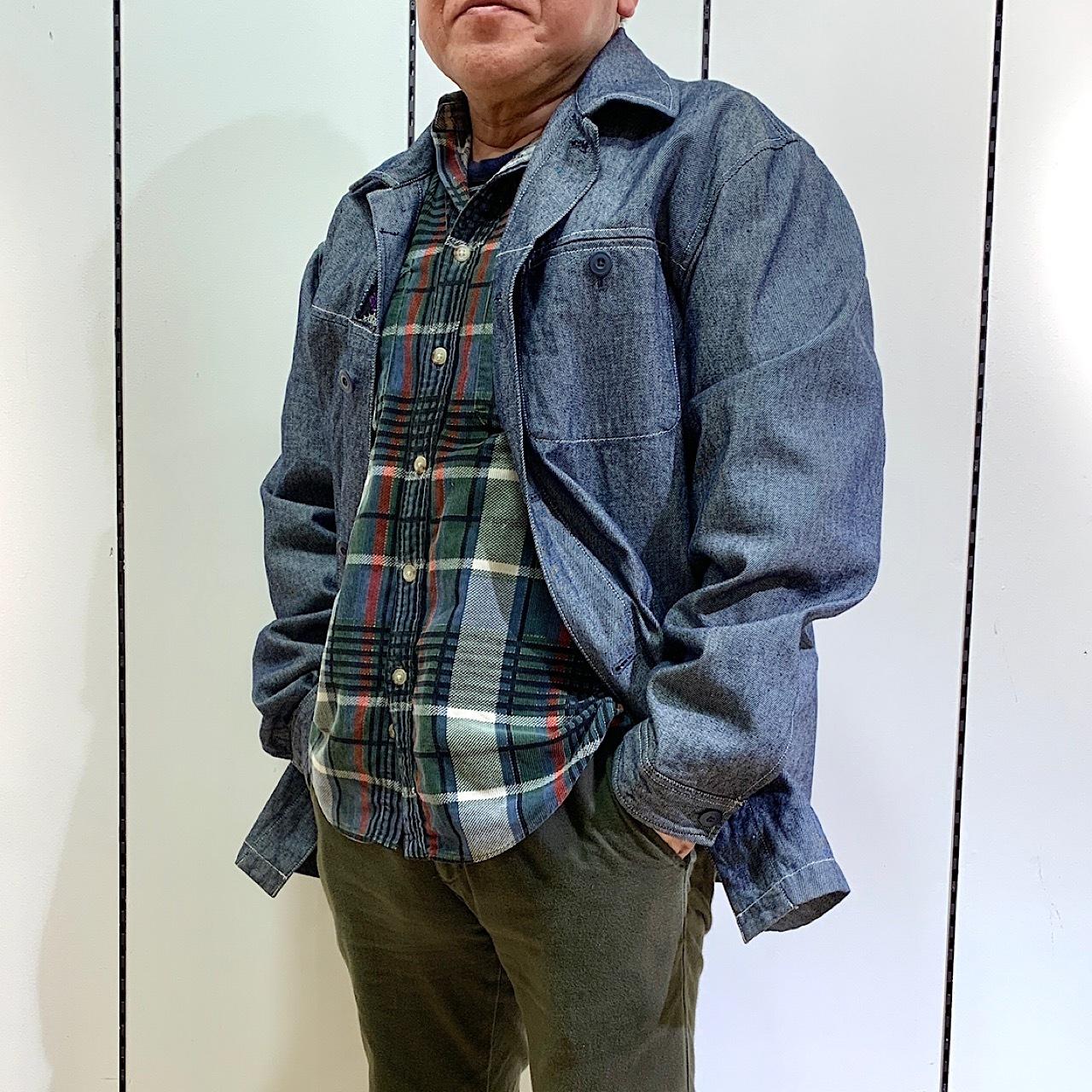 drm-066 メンズ モン族刺繍デニムコート