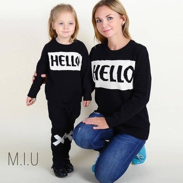 HELLO, BYEニット ママ #MIU594