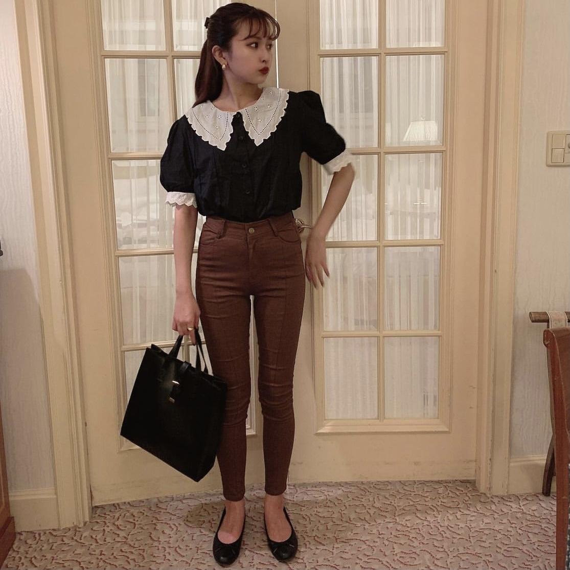 Désir original brown skinny pants