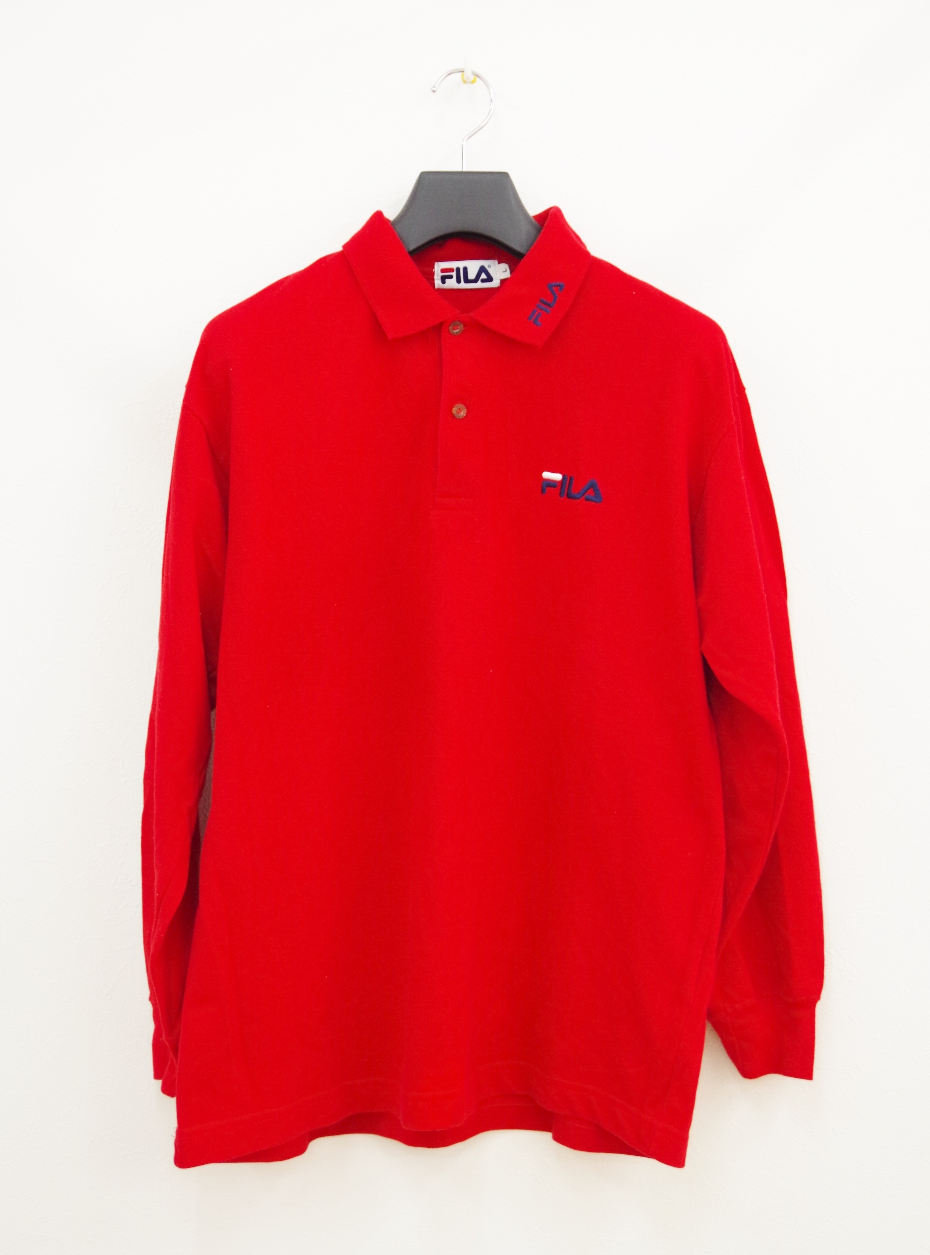 FILA long polo shirt
