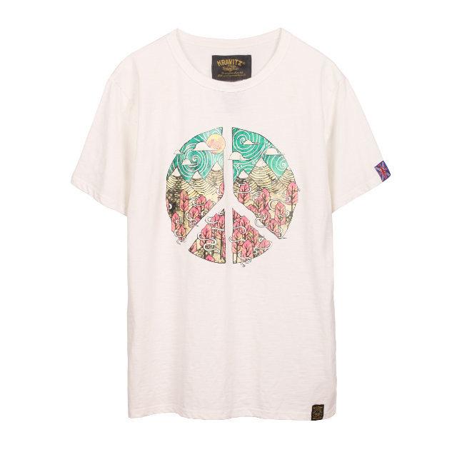 Peace Mark Tee | ピースマーク Tシャツ (KRAVITZ クラヴィッツ)