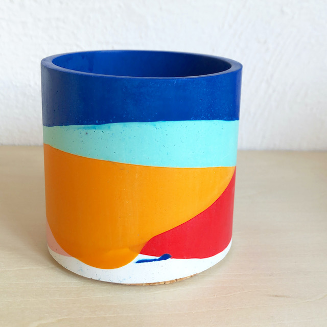 "EMILY MARLIN ""Royal Poured Pot"""