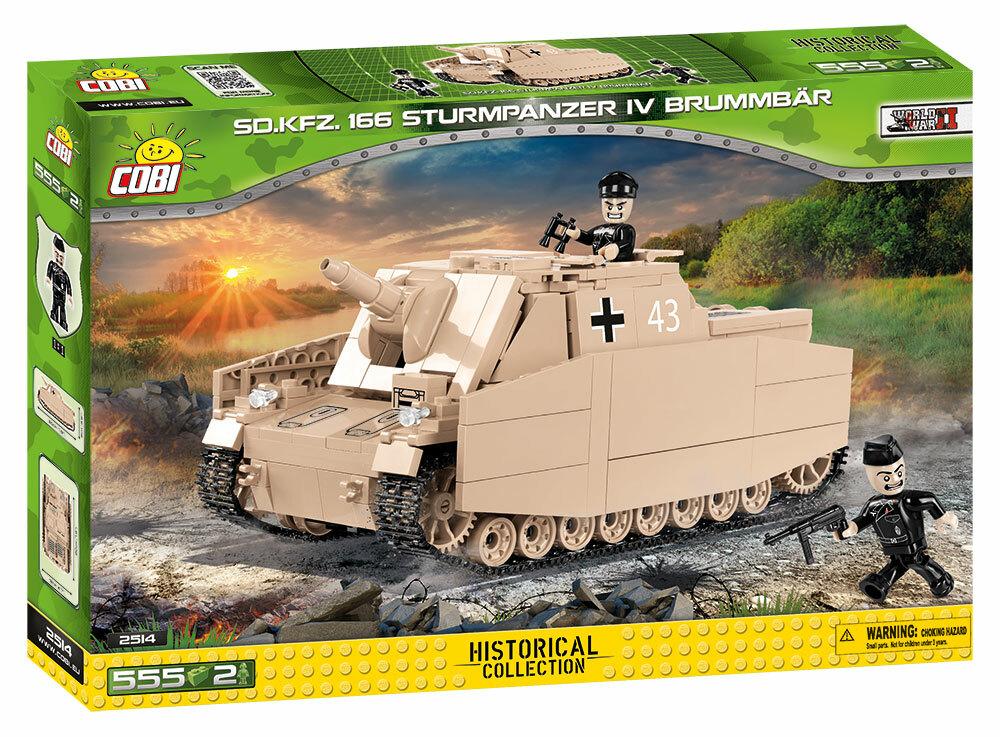 COBI 2514 IV号突撃戦車ブルムベア
