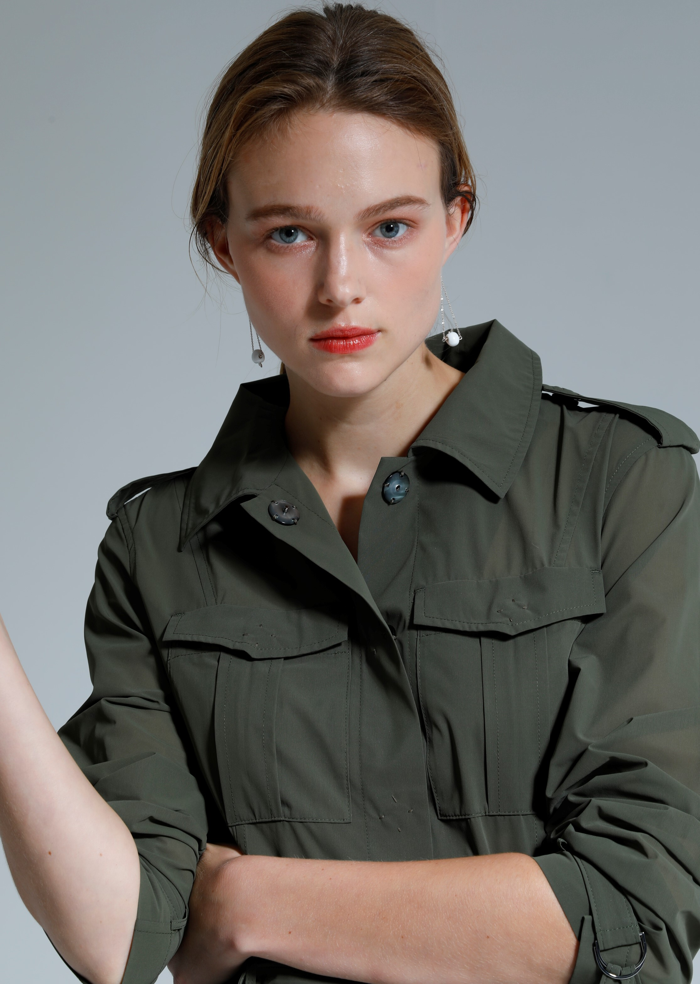 ORGANDY SAFARI TRENCH COAT