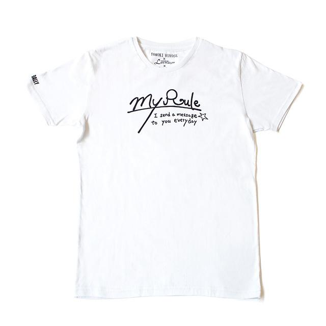TOMOKI HIROSE×JACKROSE/Luv maison×Sparkle 廣瀬智紀デザインコラボTシャツ(白)