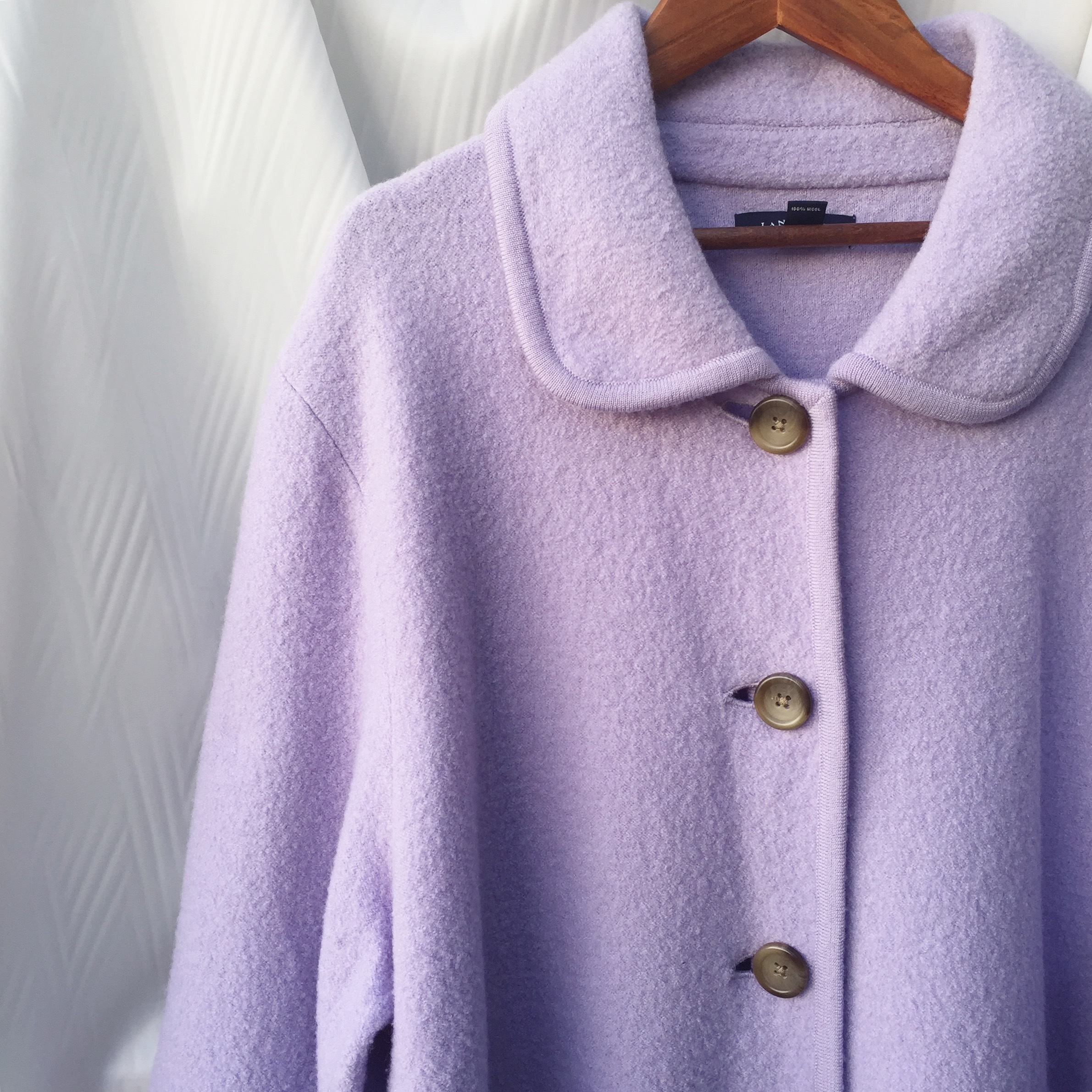 vintage over sized wool outer