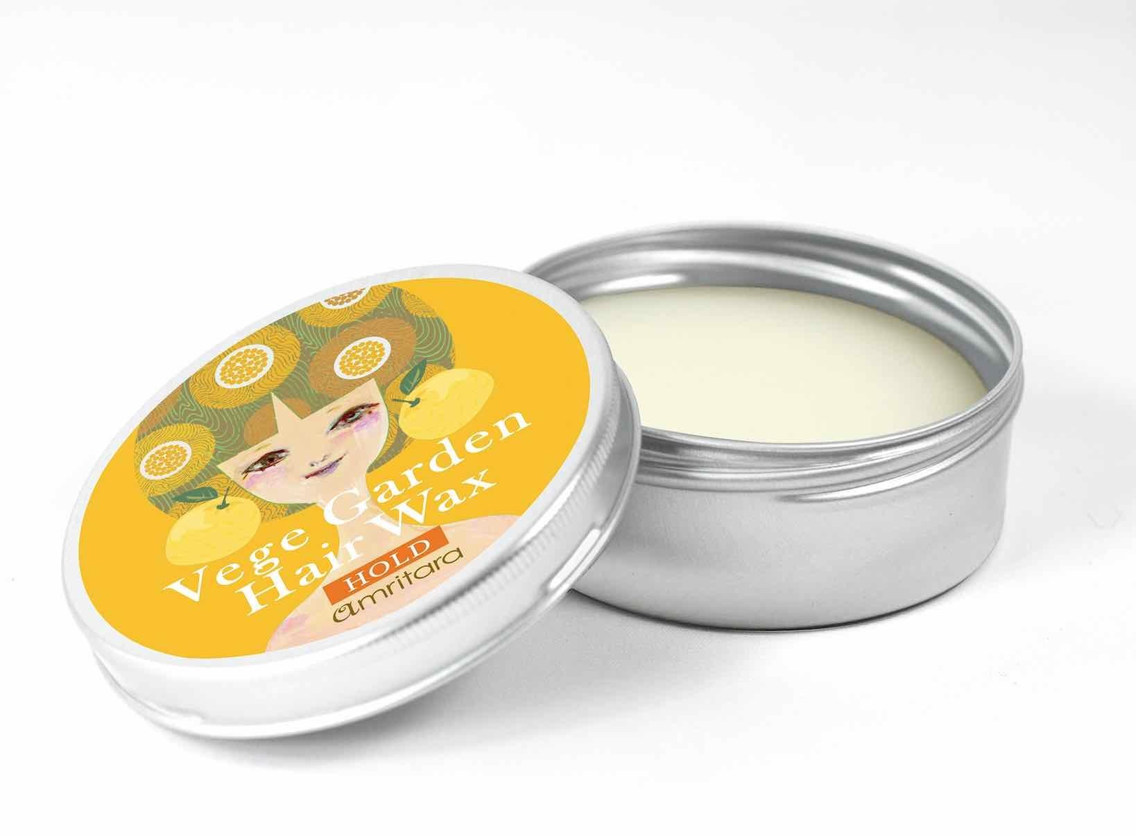 amritara ベジガーデンヘアワックス(ホールド)柚子の香り