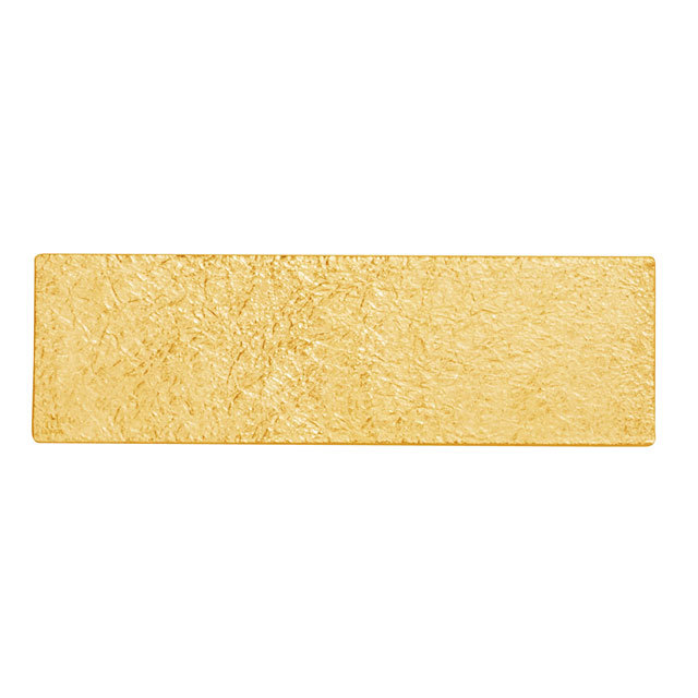 TIN BREATH 60mm Gold plate