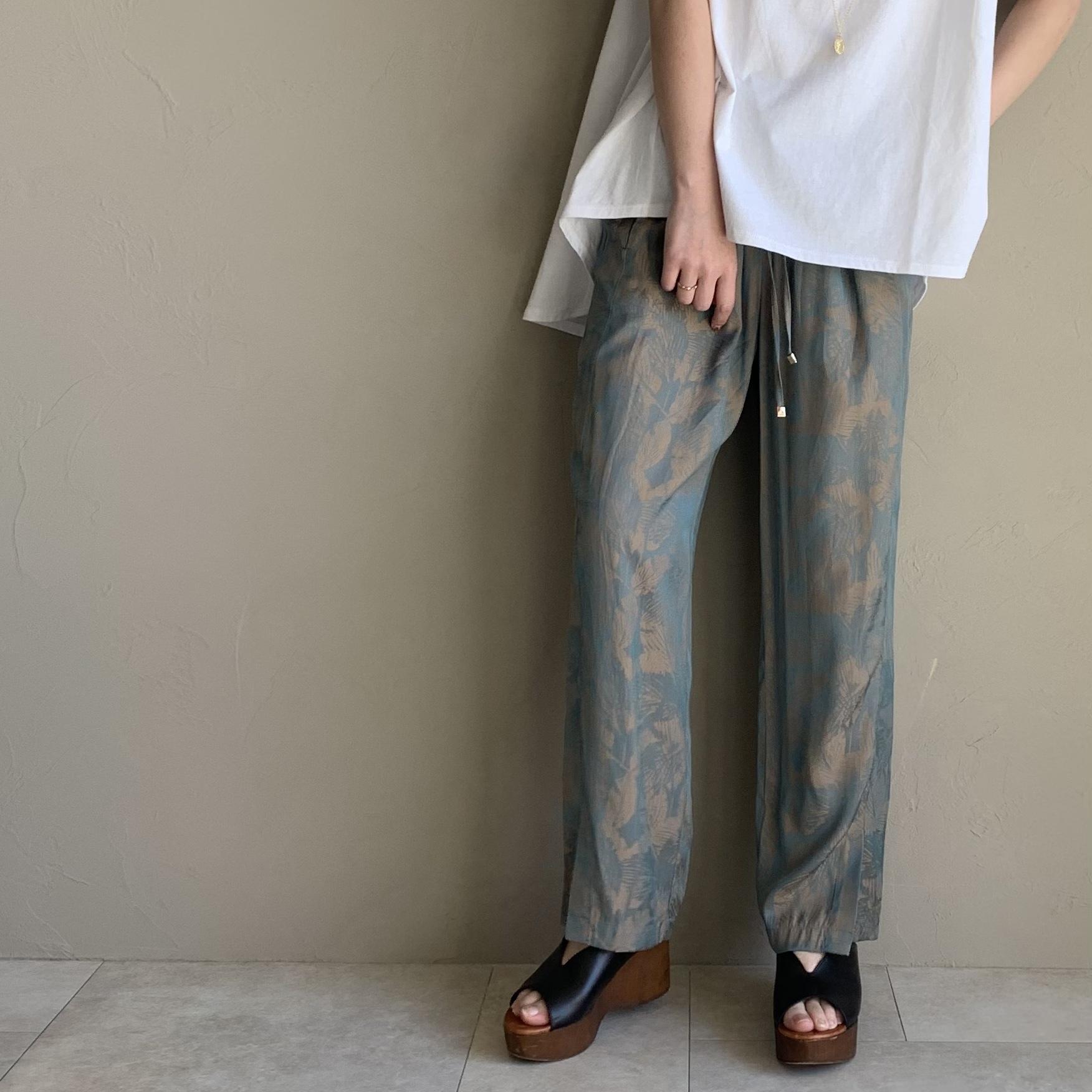 【 Chignon 】- 3611-233 - Leaf JQ パンツ
