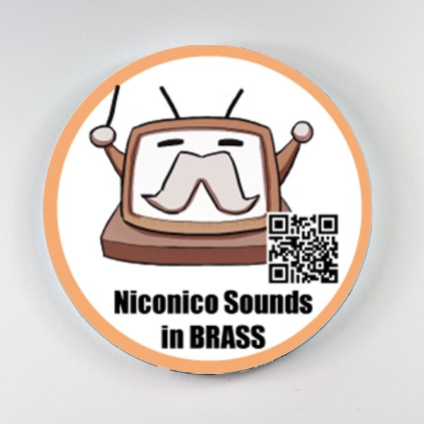 Niconico Sounds in BRASSオリジナル缶バッジ
