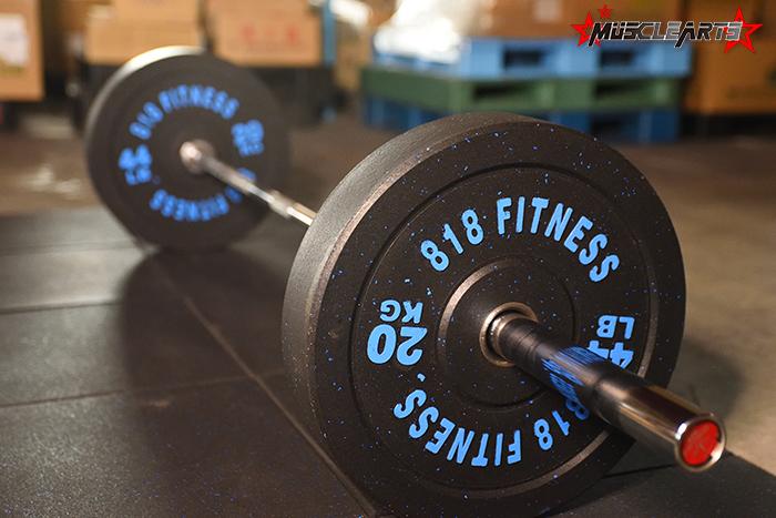 予約】高品質オリンピックバーベルシャフト 220cm 耐荷重450kg オリンピックプレート 50mm 対応【本州送料込】 |  MuscleArts(マッスルアーツ)