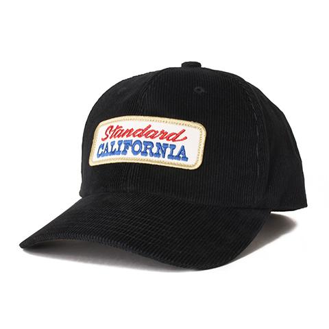 STANDARD CALIFORNIA #SD Logo Patch Corduroy Cap Charcoal