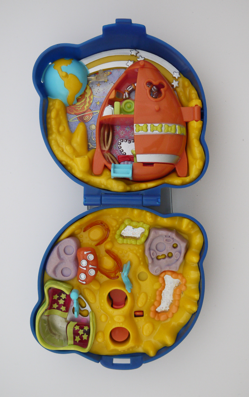 ポーリーポケット ディズニー ミニーの宇宙旅行 ほぼ完品