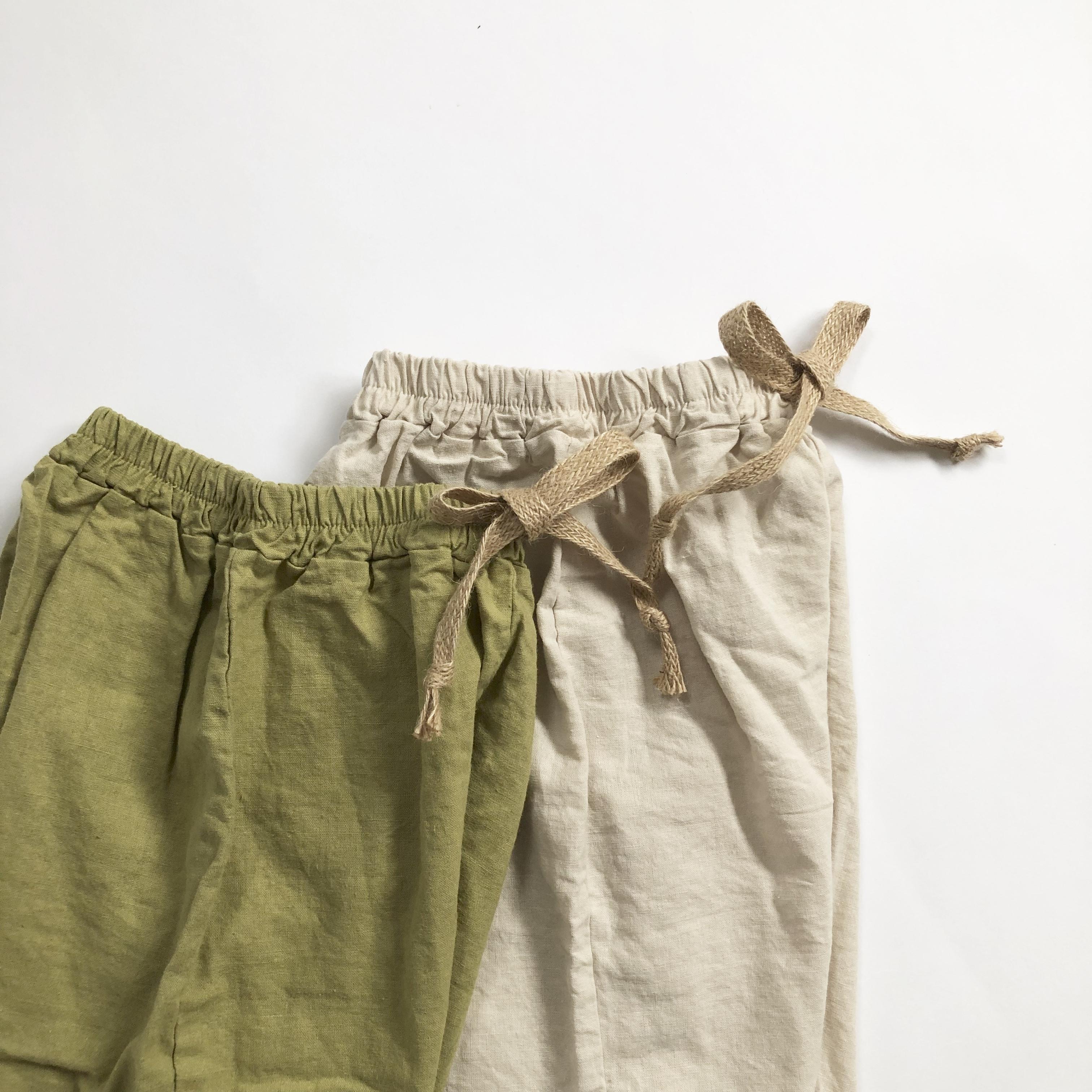 〈 233 〉Twine pants