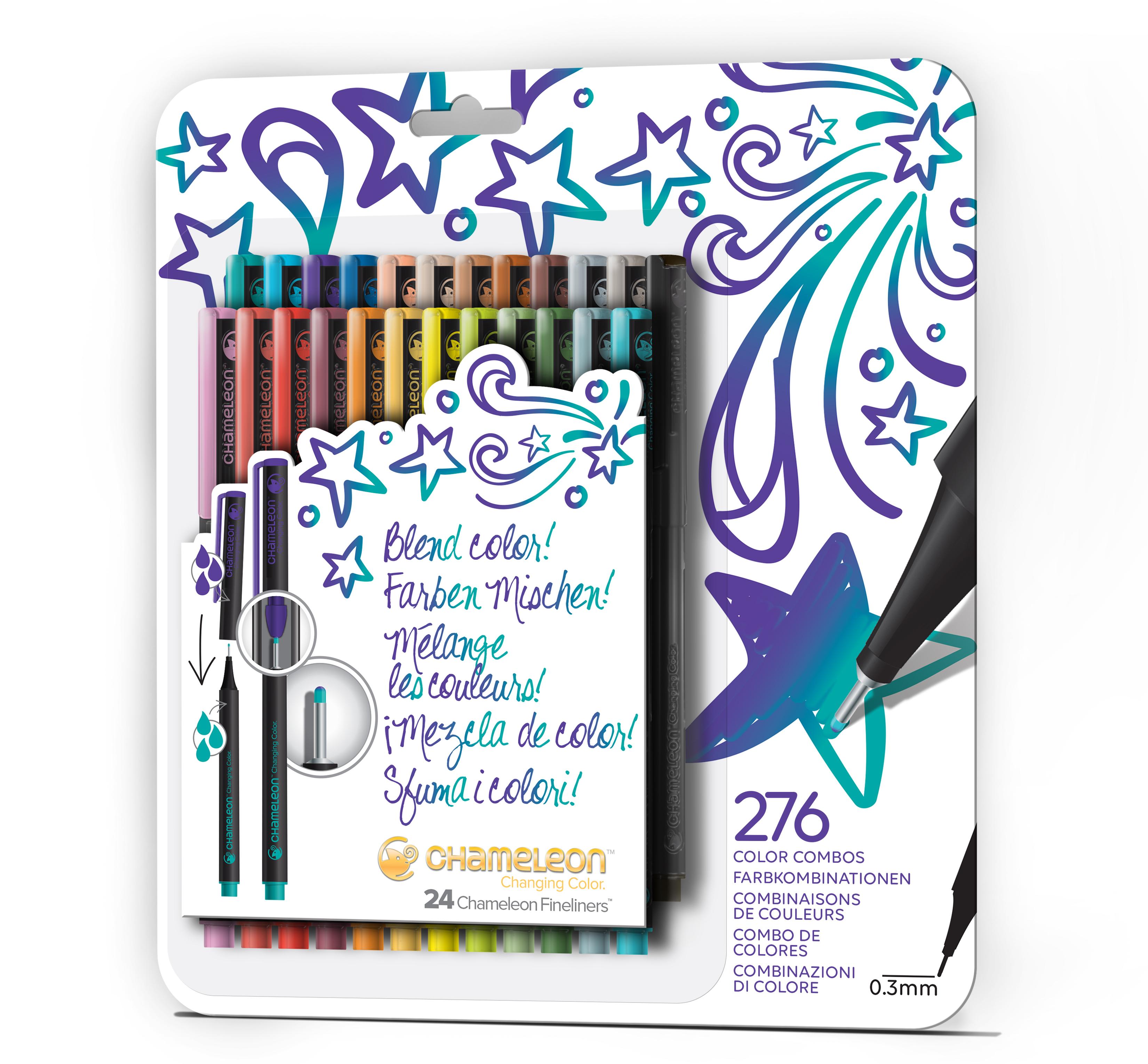 Chameleon Blendwriters 24 pack Bold Colors (カメレオンブレンドライター 24本入りボールドセット)