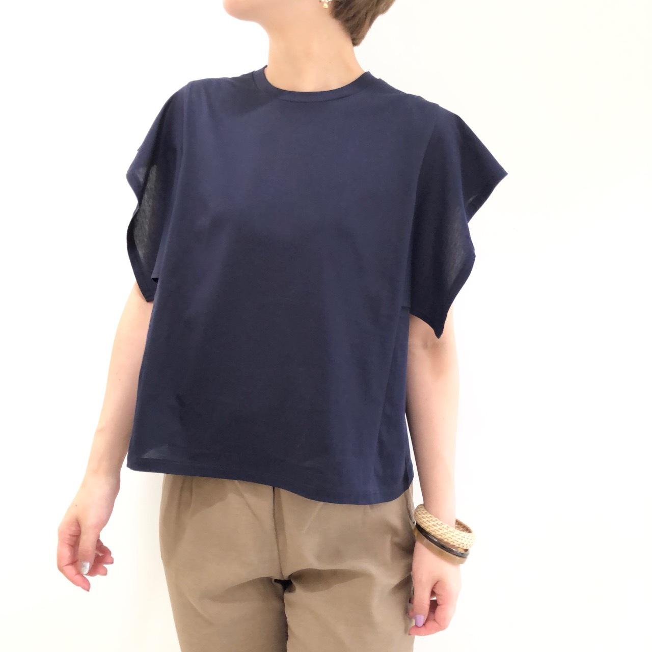 【 Valance Select 】- SP-CT9211 - フリルスリーブTeeシャツ