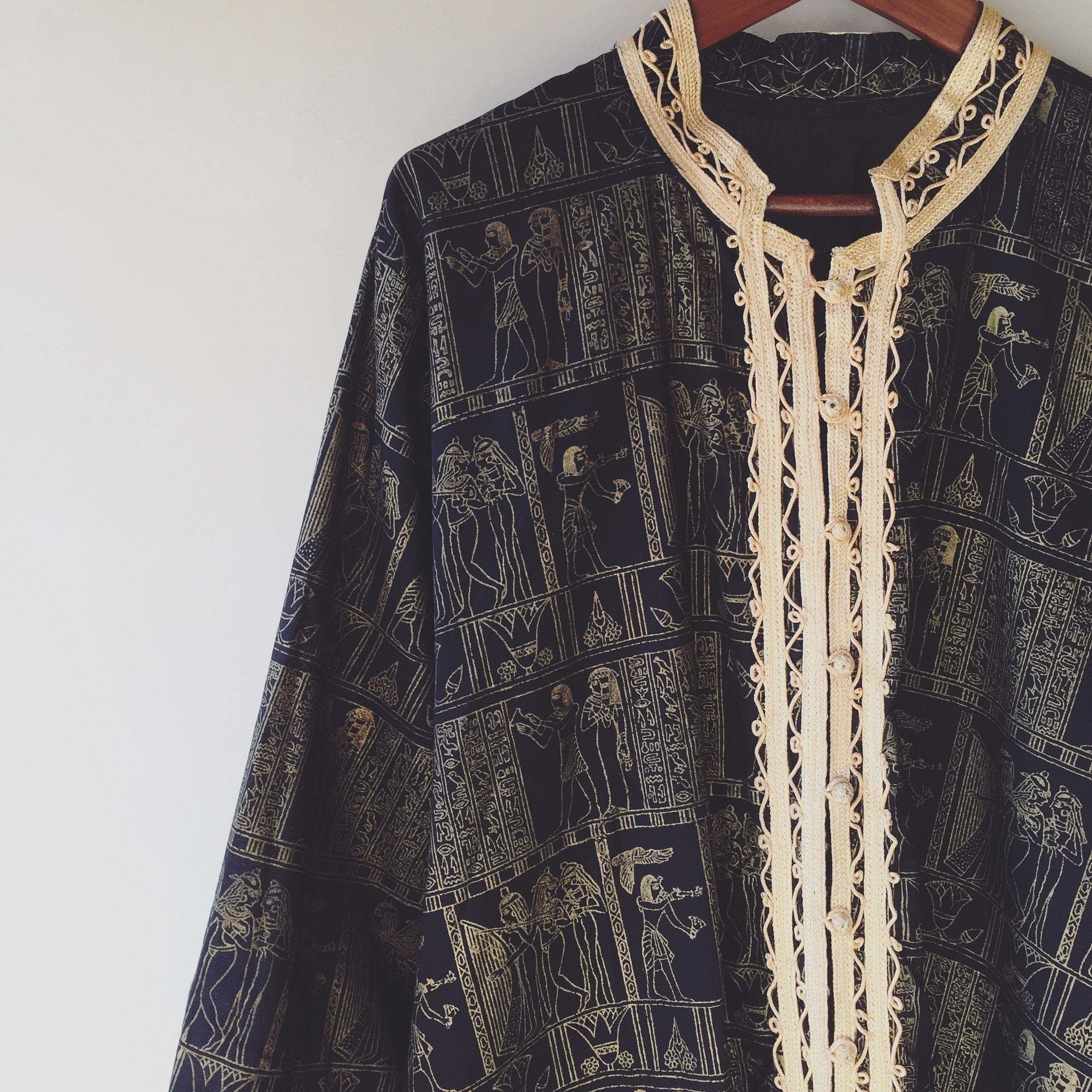vintage Egyptian tops