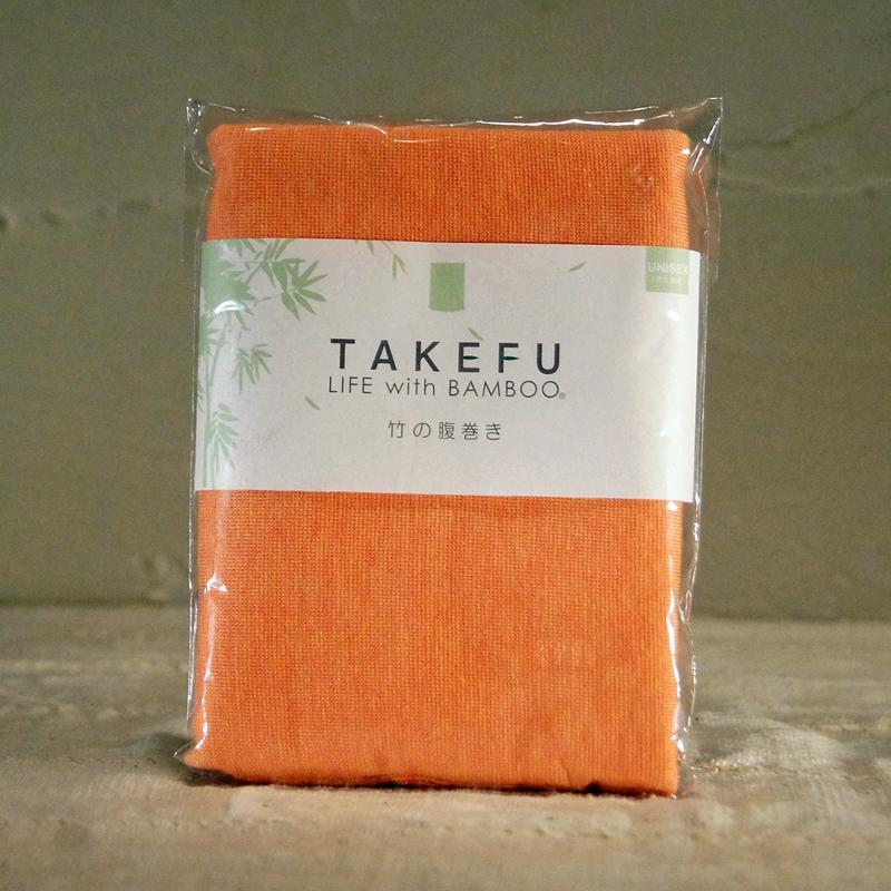【TAKEFU】竹の腹巻き