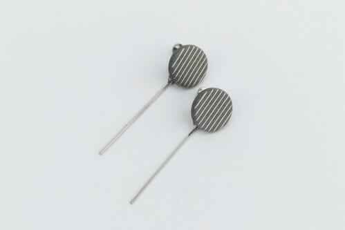 ilocami stick pierce/earring【GREY】