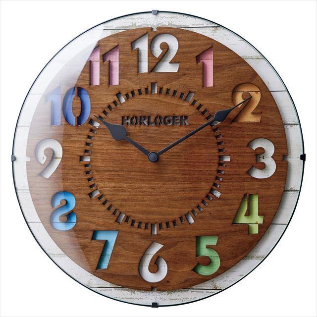 電波時計 カラフル 日本メーカー製ムーブ Forli~フォルリ~ CL-8332 インターフォルム - 画像2