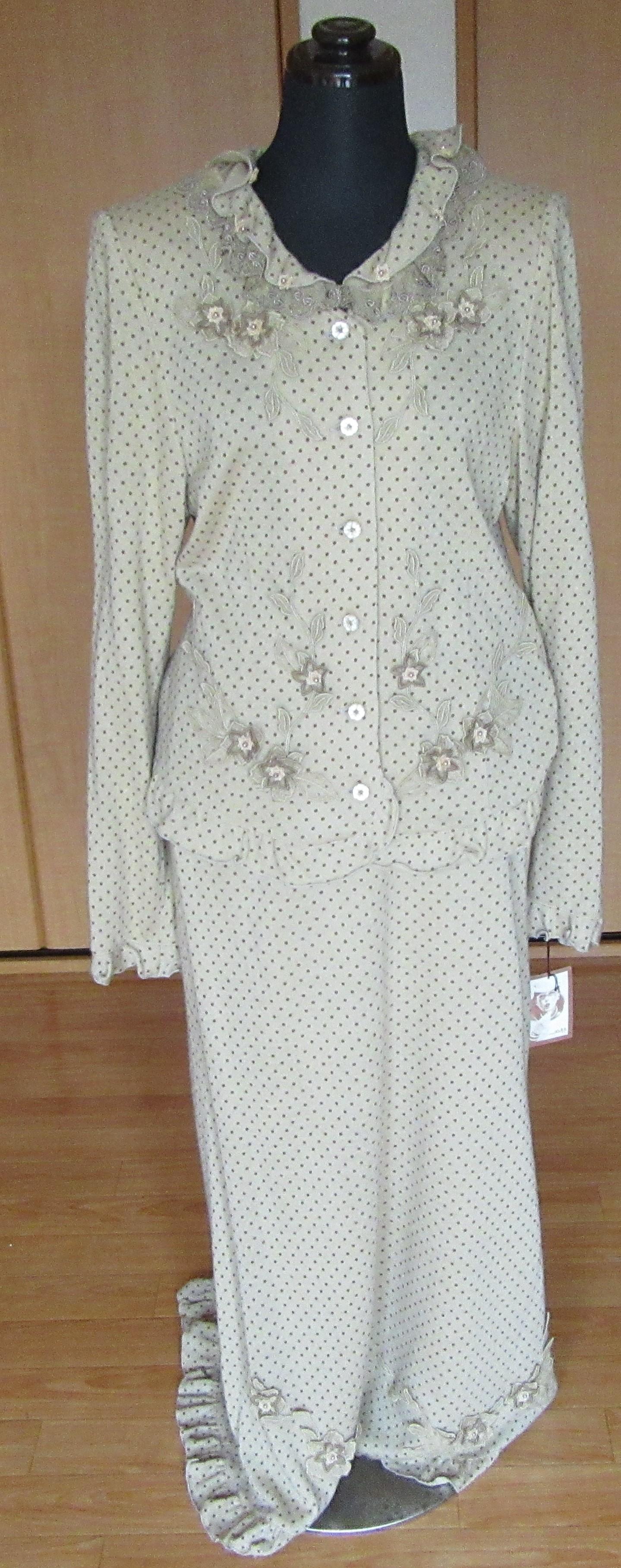 ドレス スーツ ロング丈 ベージュ Mサイズ 新品 日本製