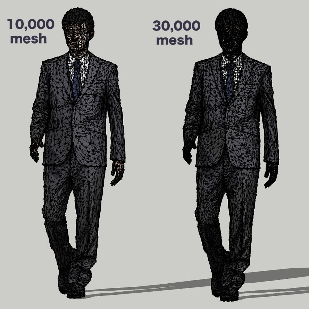 SketchUp素材 3D人物モデル ( Posed ) 101_Sota - 画像3