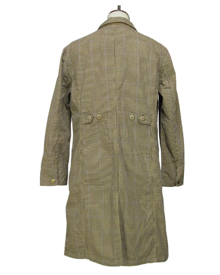 houndstooth Shop-coat - 画像2