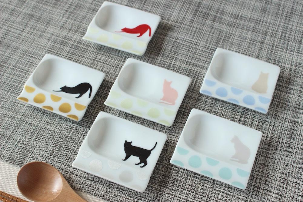 猫カフェ*スプーンレスト付き箸置き