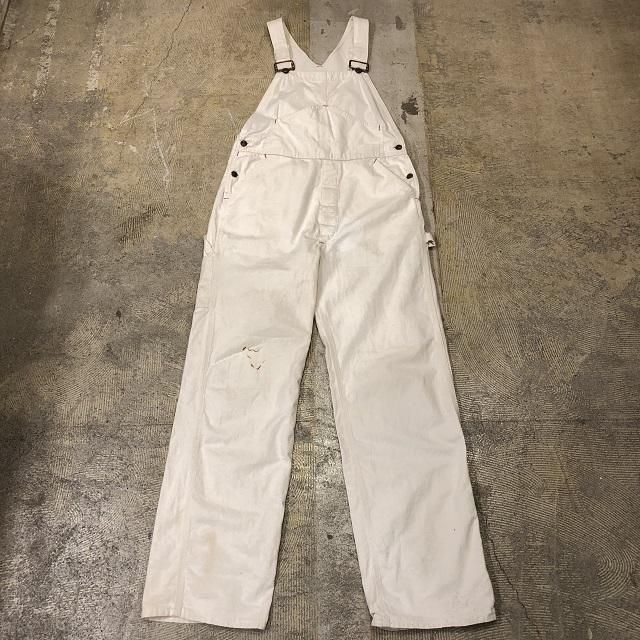 70's BIG MAC White Overalls