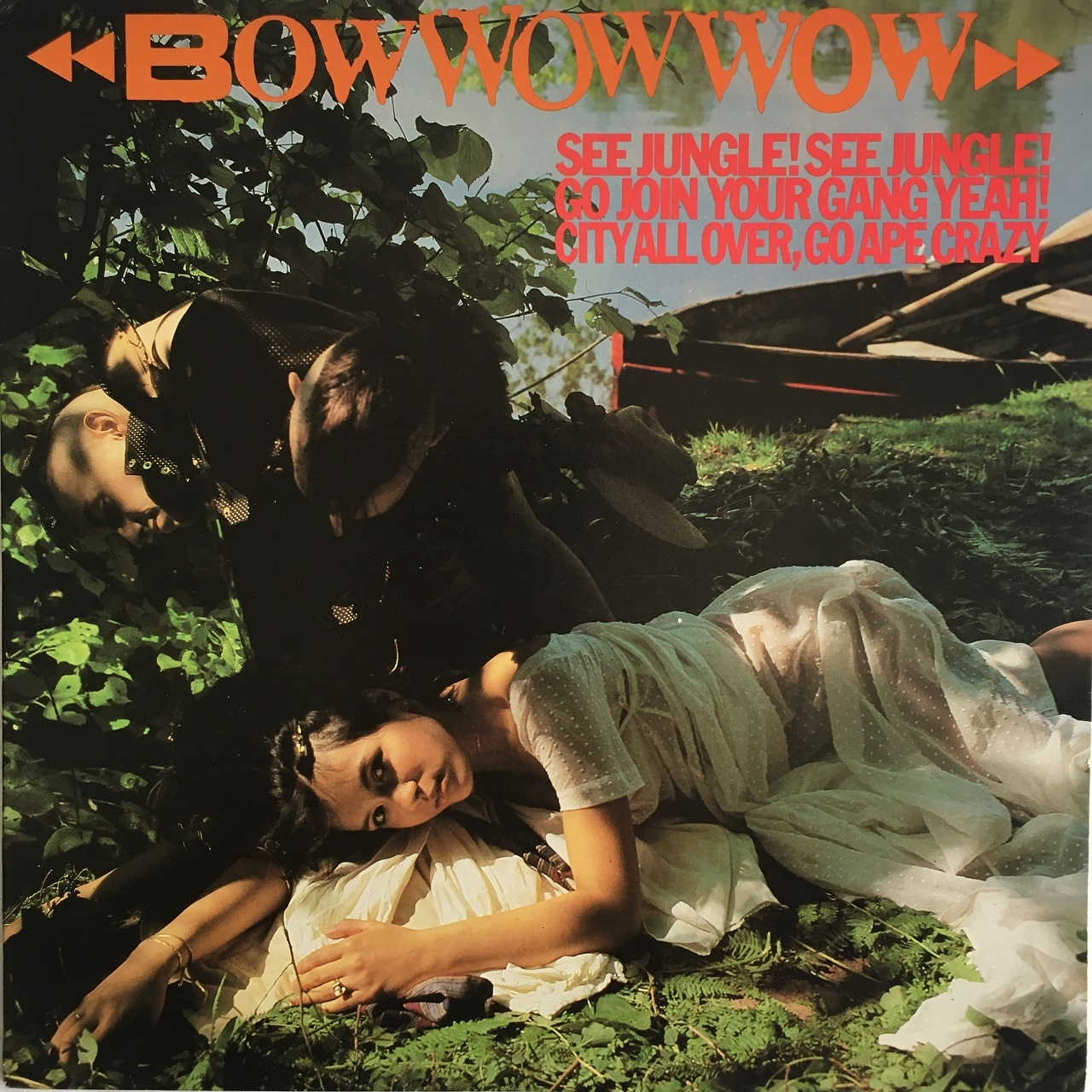 【LP・米盤】Bow Wow Wow / See Jungle! See Jungle! Go Join Your Gang Yeah! City All Over, Go Ape Crazy