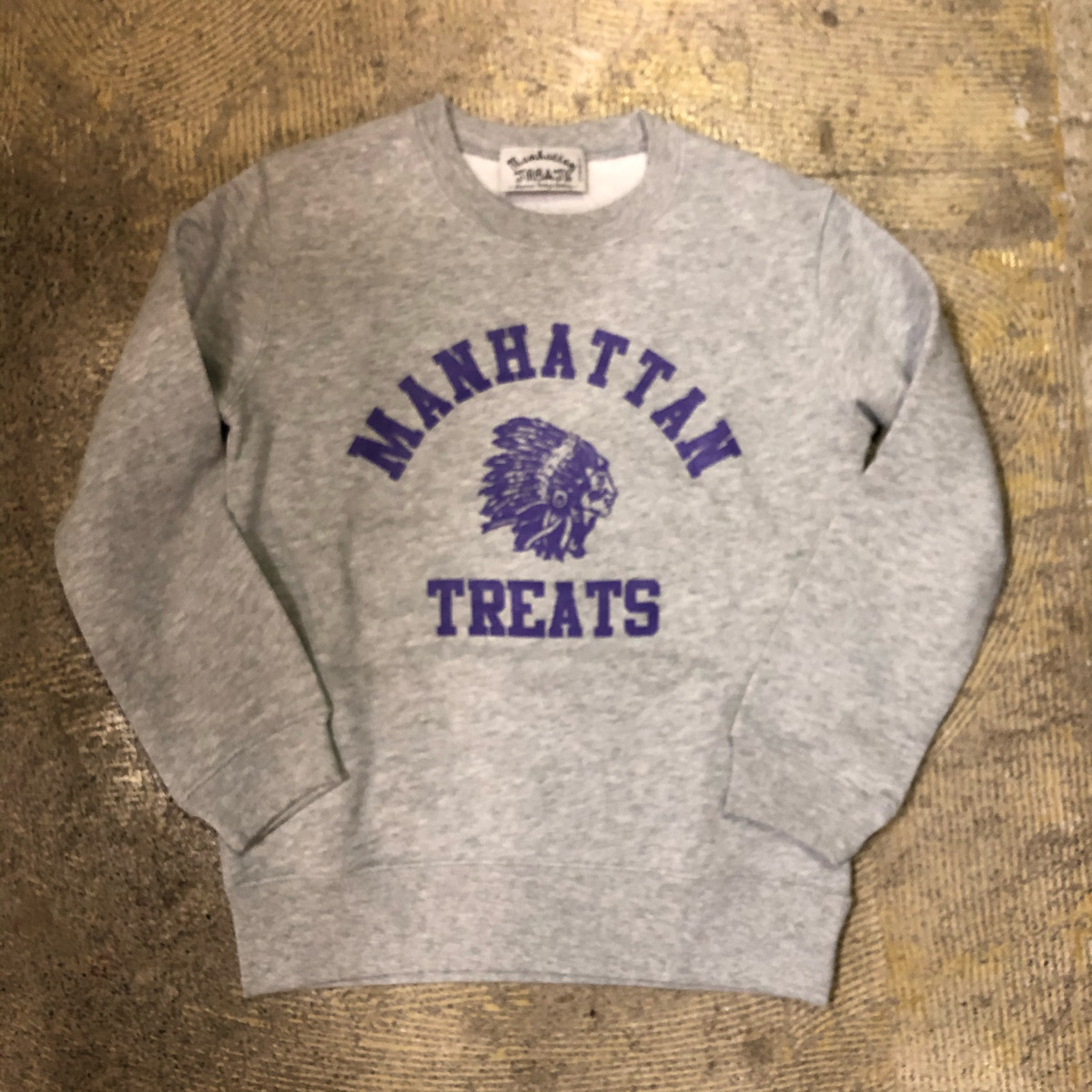 MANHATTAN TREATS #Indian Treats Kids Sweat Shirt