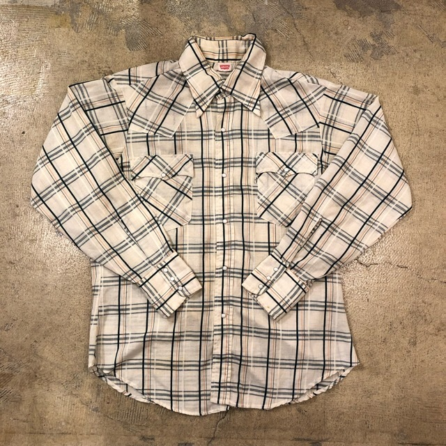 70's Levi's Western L/S Shirts