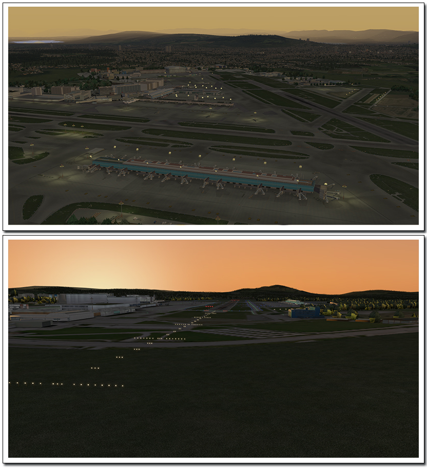 Xプレイン10拡張パック チューリッヒ空港