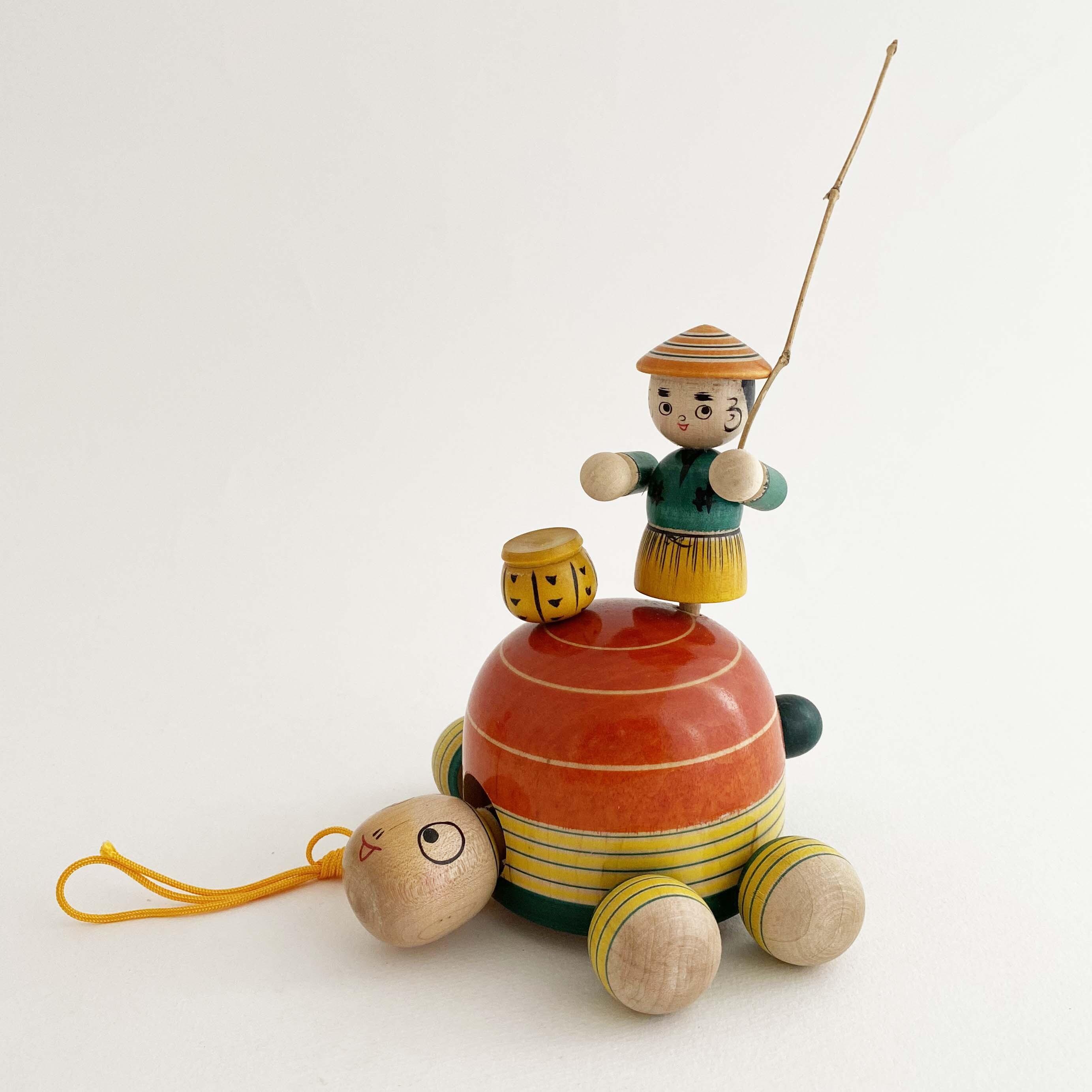 蔦玩具「浦島太郎」