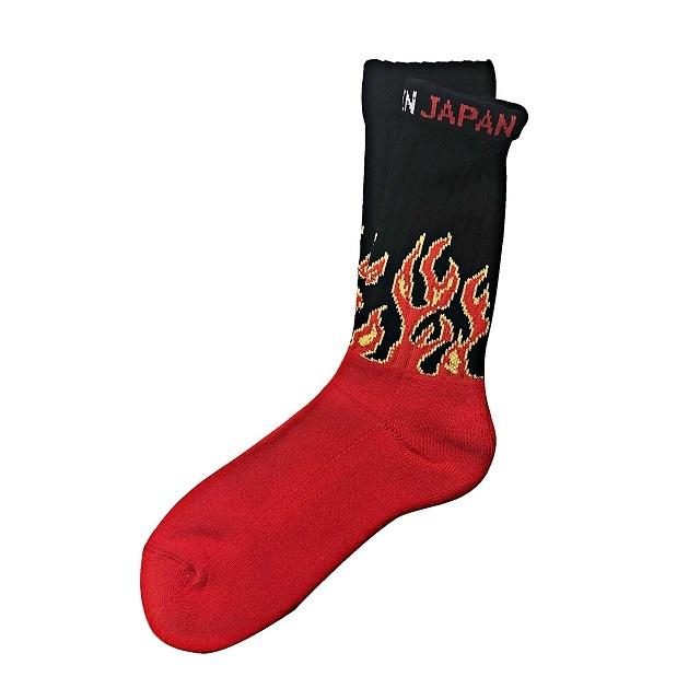 """""""Fire Burning -red-"""" Socks"""