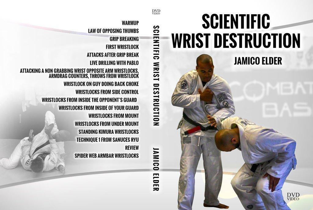 科学的な手首破壊 ジミコ・エルダー DVD|ブラジリアン柔術
