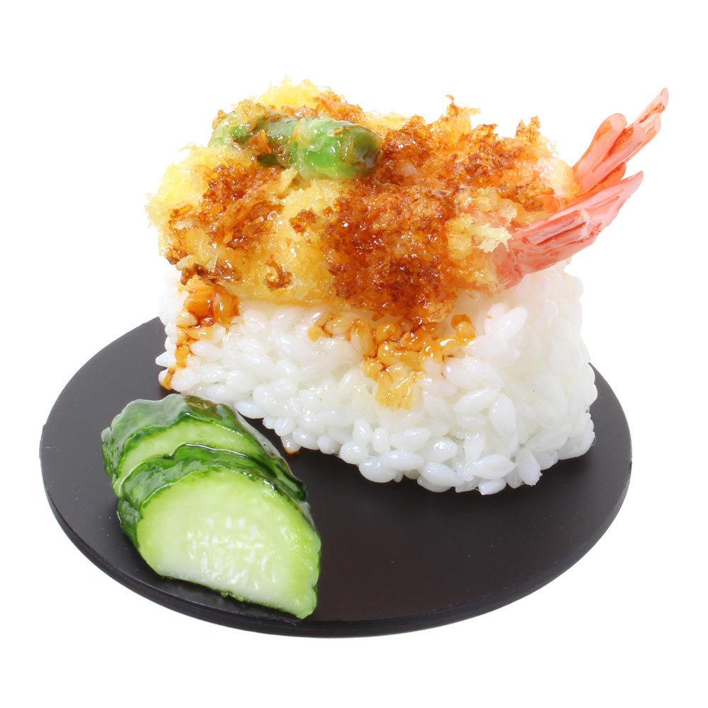 [9017]食品サンプル屋さんのスマホスタンド(天丼)【メール便不可】